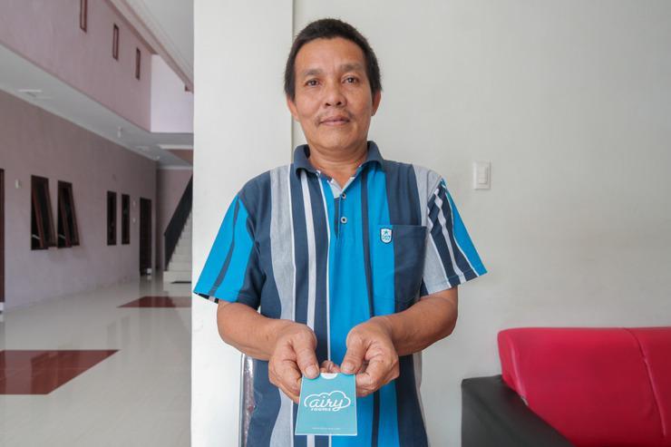 Airy Eco Medan Baru Sei Muara 27 - Receptionist