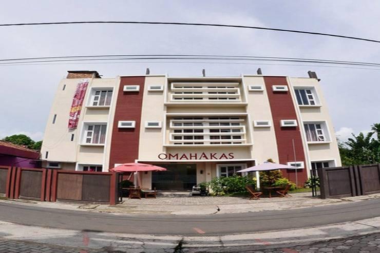 Omah Akas Lampung - Tampilan Luar Hotel