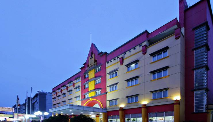 Hotel Nalendra Bandung - TAMPAK DEPAN