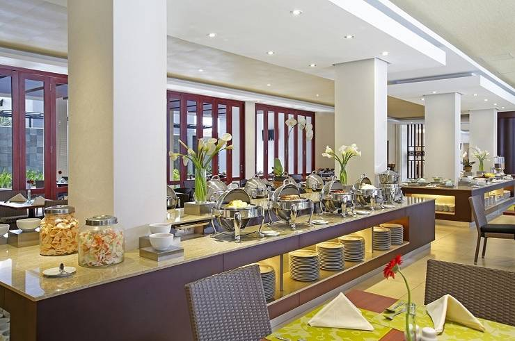 Hotel Santika  Purwokerto - Ruang makan