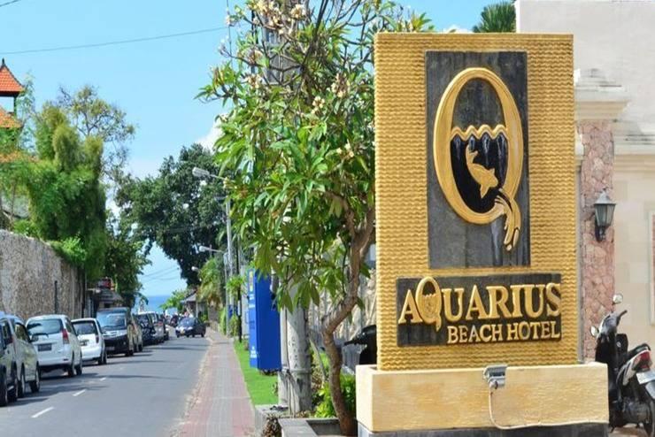 Aquarius Beach Hotel Bali - Eksterior