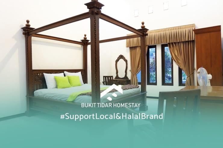Tidar Homestay Syariah Malang - Kamar Tidur
