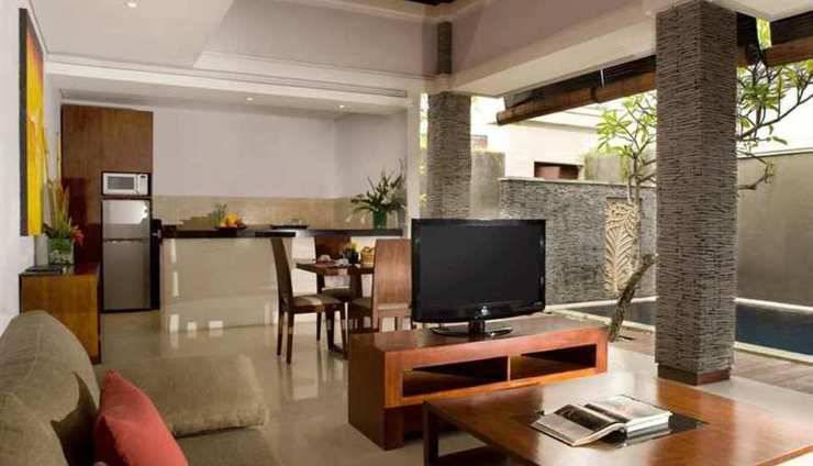The Wolas Villas and Spa Bali - Ruang tamu