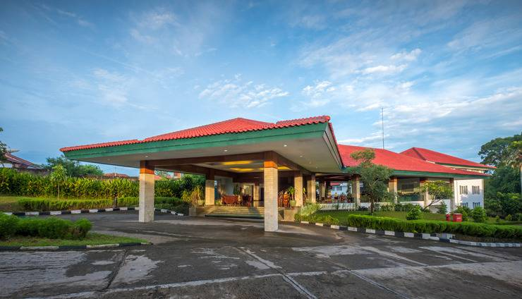Hotel Griya Sintesa Muara Enim Muara Enim - Eksterior bangunan