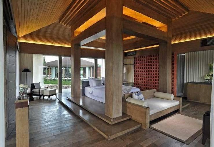 Djoglo Luxury Bungalow Malang - Kamar - Pemandangan Golf