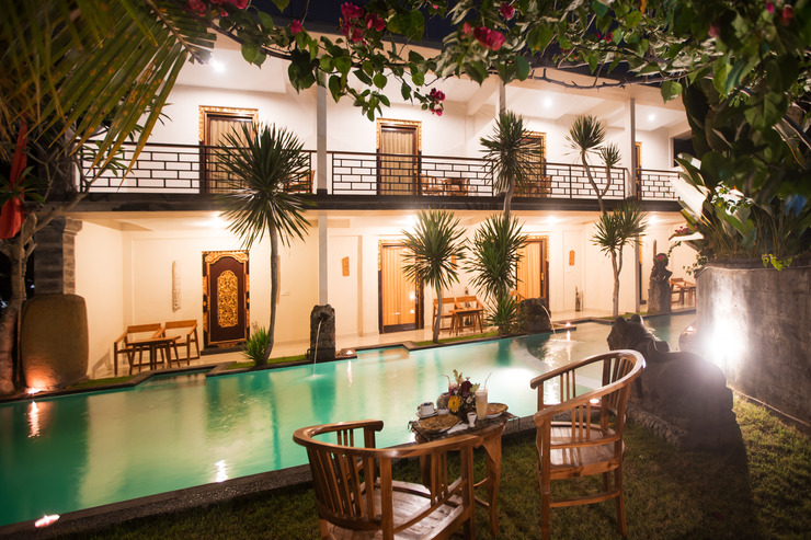 Asri Sari Resort Bali - Facade