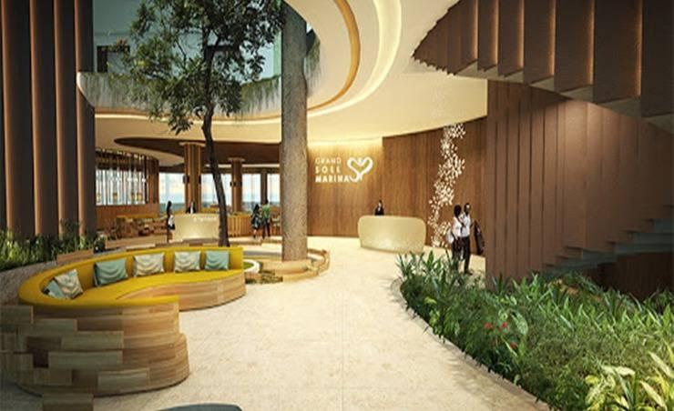 Grand Soll Marina Hotel Tangerang -  Lobby