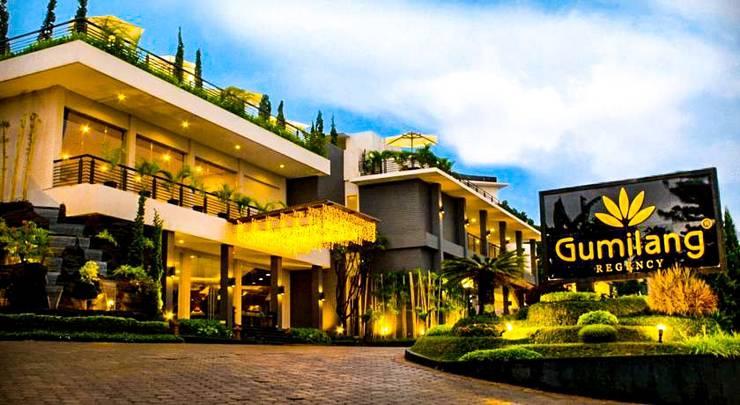 Gumilang Regency Hotel Bandung - Tampilan Luar