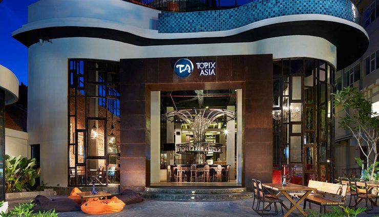 Sun Island Hotel Legian - Tampilan Luar Hotel