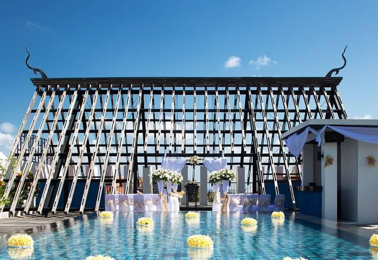 Sun Island Hotel Legian - Dekorasi pernikahan
