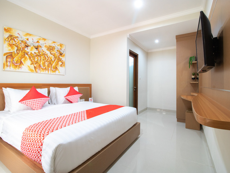 OYO 3018 Vin Stay Bali - Deluxe Double Bedroom