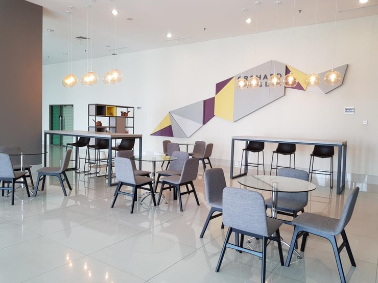 Convenient Studio Apt @ Supermall Mansion By Travelio Surabaya - Ruang santai