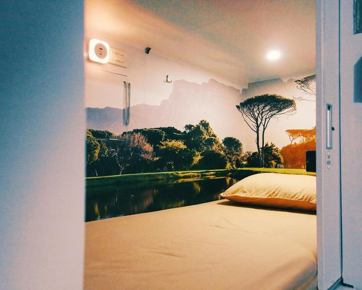Inap At Capsule Jakarta Thamrin Jakarta - Bedroom