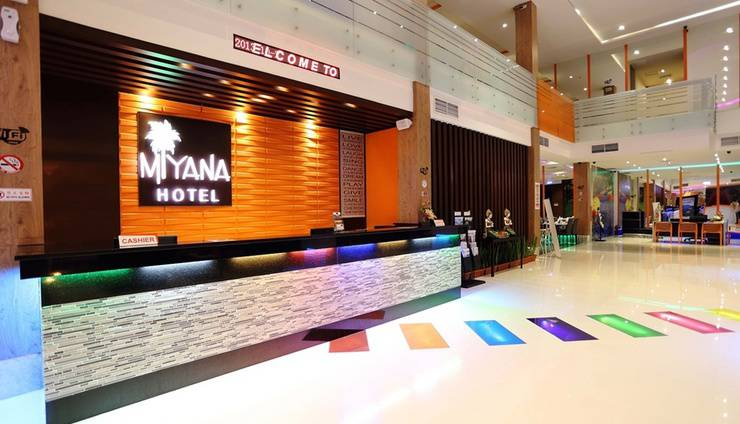 Miyana Hotel Medan - Reception (07/Feb/2014)