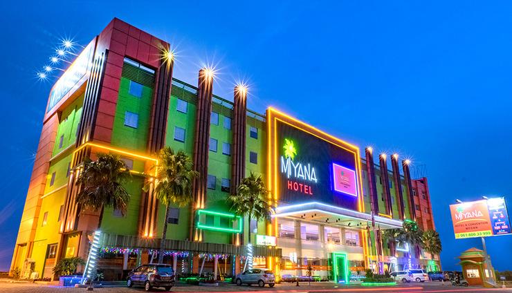 Miyana Hotel Medan - Gedung Luar (07/Des/2020)