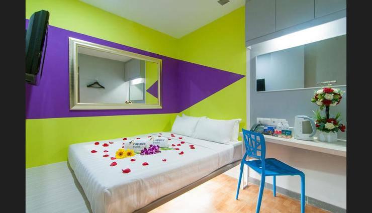 Fragrance Hotel Rose - Guestroom