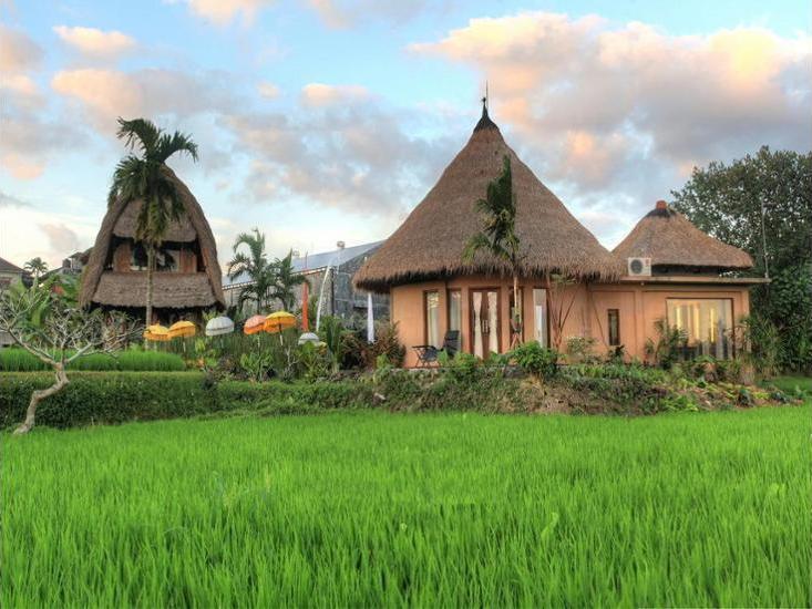 Villa Kunang Kunang Ubud - Property Grounds