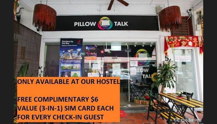 Pillow Talk Hostel Singapore - Featured Image