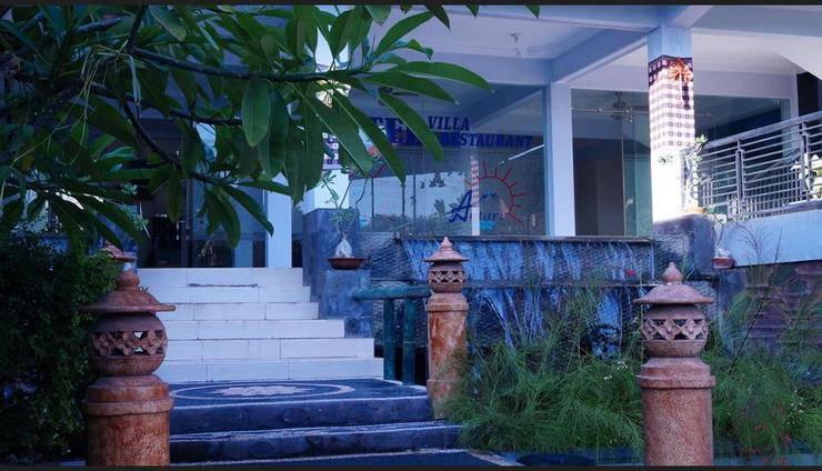 Antari Hotel Bali - Hotel Front - Evening/Night