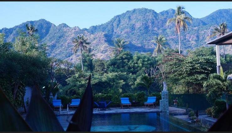 Antari Hotel Bali - View from Hotel