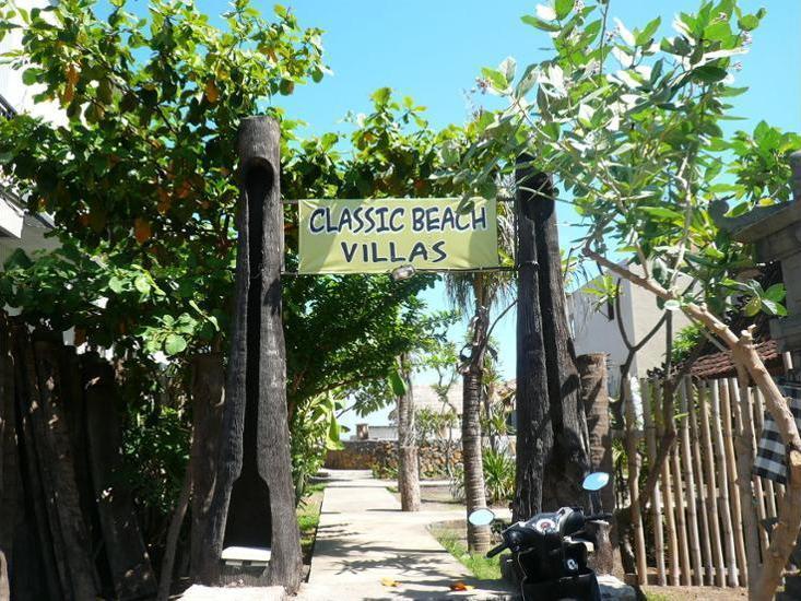 Classic Beach Villas Bali - Hotel Entrance