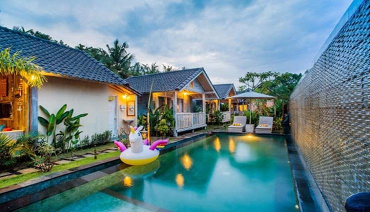 The Syron Huts Bali - exterior