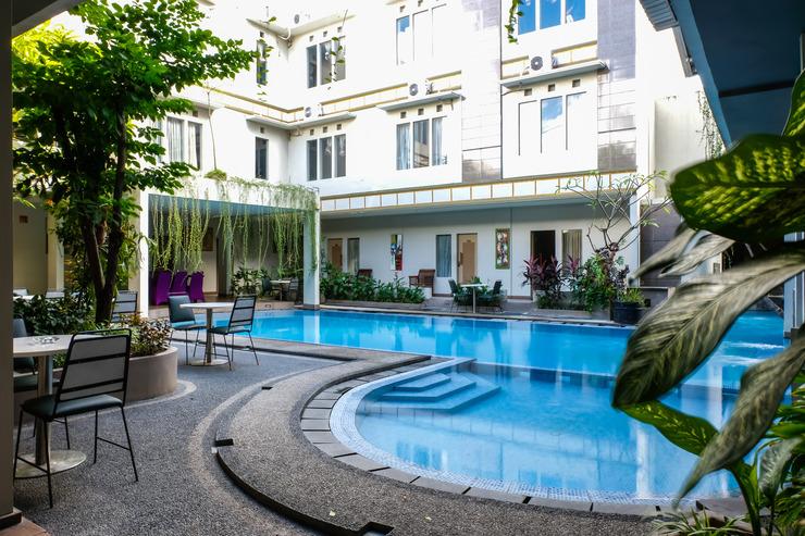 OYO 788 Bidari Hotel Lombok - pool
