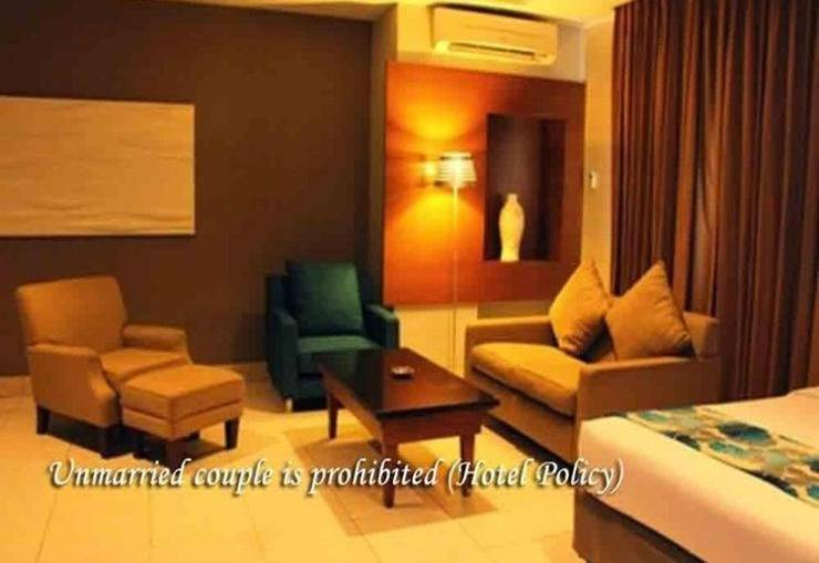 Hotel Gren Alia Cikini Jakarta - Ruang Keluarga