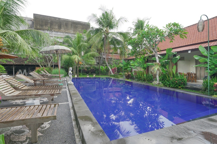 OYO 516 Kudesa Home Stay Bali - swimming pool
