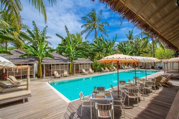 Les Jardins De Gili Lombok - Restaurant