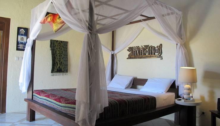 Hotel Uyah Amed - Bungalow Pemandangan Laut laut AC di Double tempat tidur King
