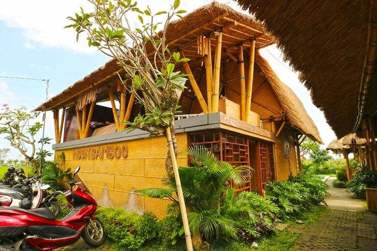 Moon Bamboo Bali - Entrance