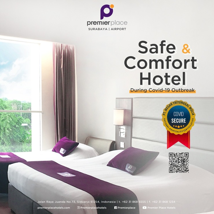 Premier Inn Surabaya� - Covid Secure