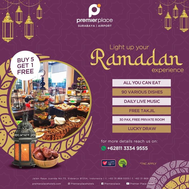 Premier Inn Surabaya� - Iftar Package