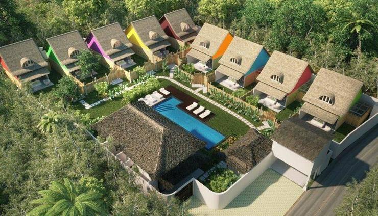 United Colors of Bali Bali - Tampilan dari atas