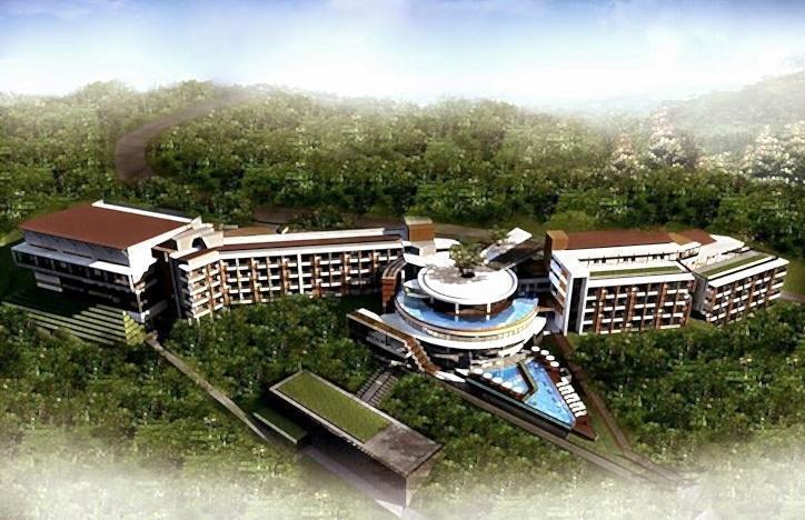 Pesona Alam Resort Puncak - Tampilan Luar Hotel