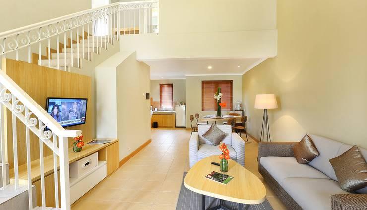 Pesona Alam Resort Bogor - Living room Villa 3 Bedroom