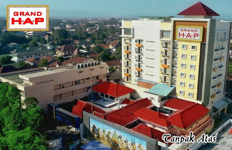 Grand HAP Hotel Solo - From Above