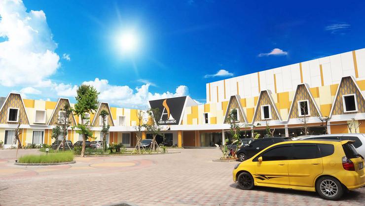 Aidia Grande Hotel Bandar Lampung - tampilan depan
