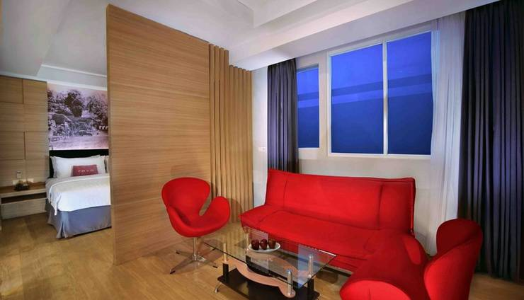 Favehotel Cimanuk Garut - Suite Living Room