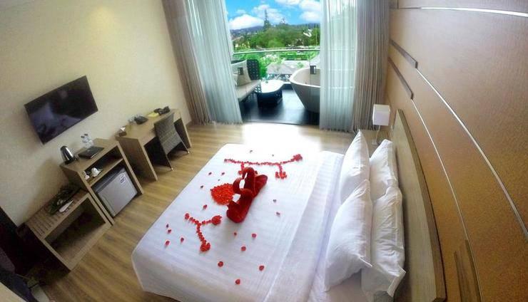 Lembang Asri Resort Bandung - Suite Honeymoon