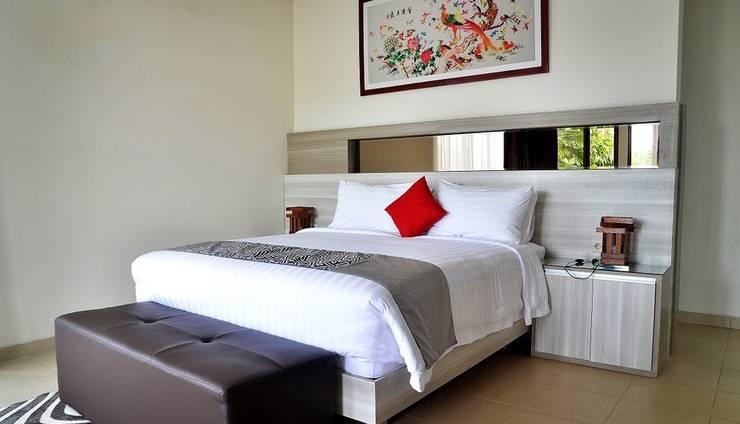4 BR Pool Villa Dago Mountain View Bandung - Kamar tidur