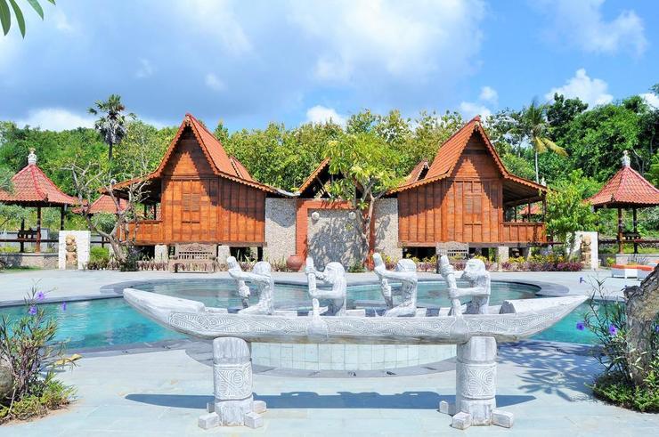 Jukung Cottage Beach Bar & Restaurant Bali - Exterior