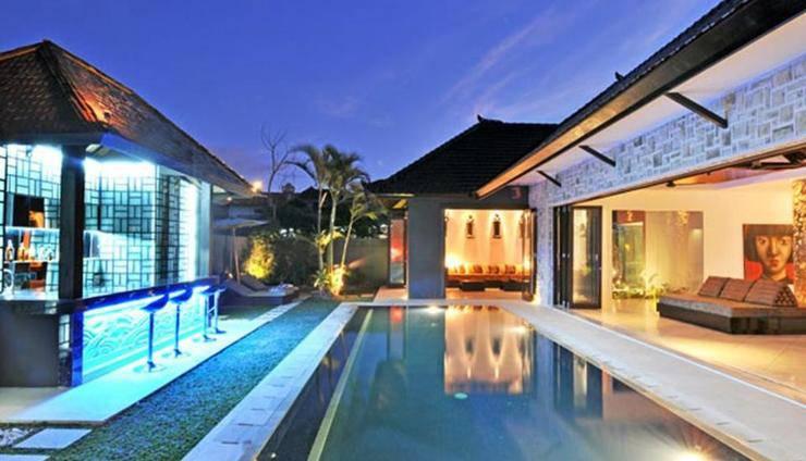 Samudra Raya Villa Bali - bangunan