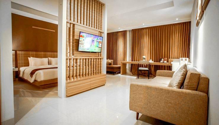 Saka Hotel Premiere Medan - Kamar Tamu