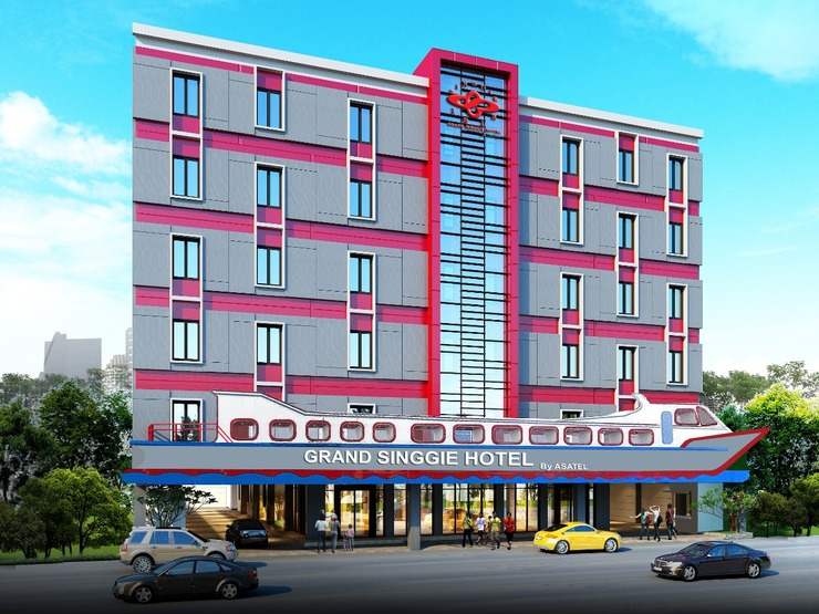 Grand Singgie Hotel managed by Asatel Tanjungbalai - building