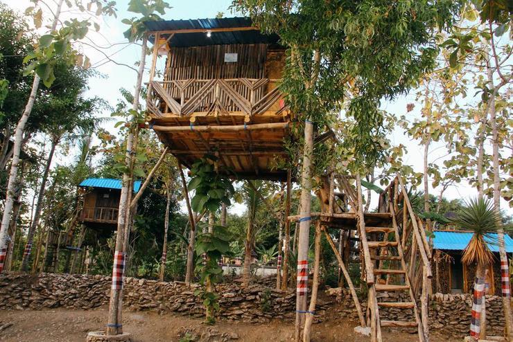 Nyuh Bengkok Tree House Bali - Exterior
