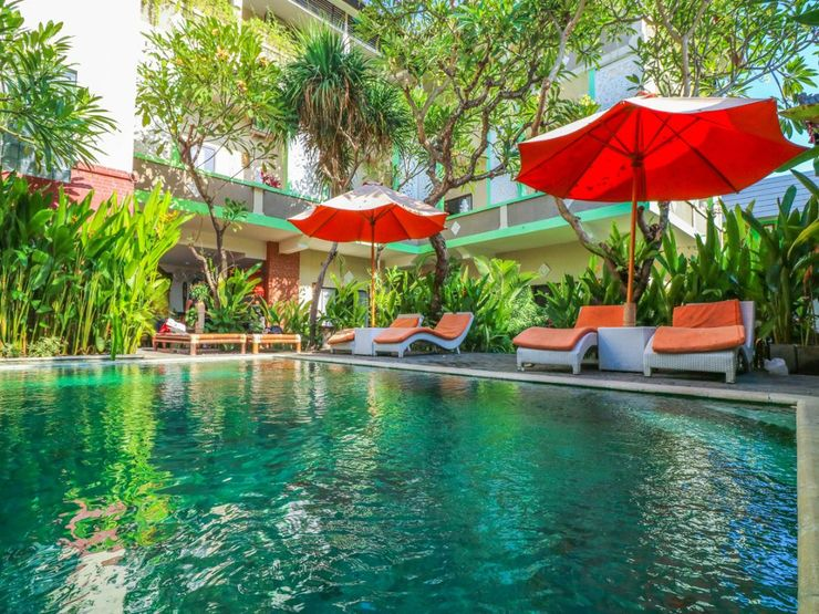 OYO 1666 Grand Pudjawan Hotel Bali - Swimming Pool