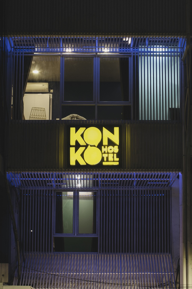 Konko Hostel Jakarta - Tampak Depan Konko Hostel