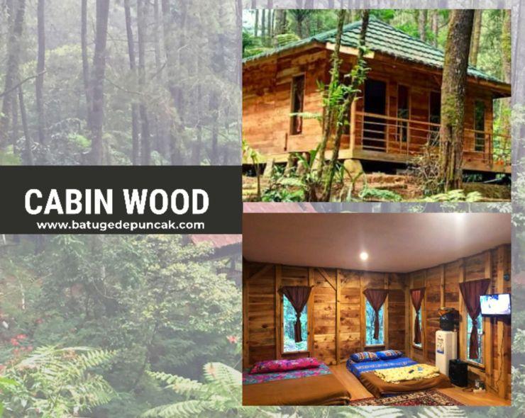Camp Curug Batu Gede Cisuren Bogor - Cabin Wood